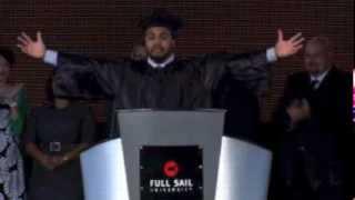 Jordan Speaks at Graduation Ceremony