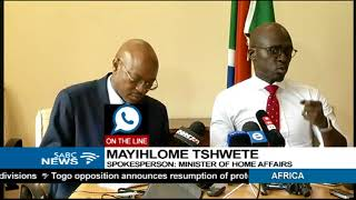 Mayihlome Tshwete on Home affairs reveal of Guptas citizenship
