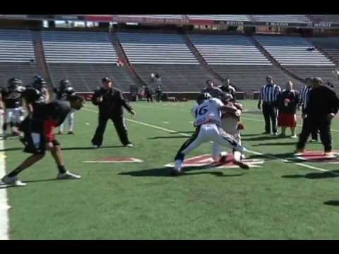 Coach Weist: 2012 UC WR Blocking Drills