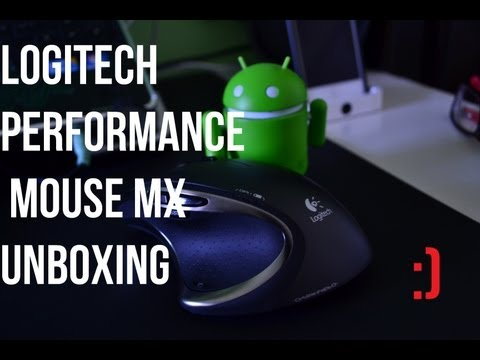Unboxing: Logitech Performance Mouse MX