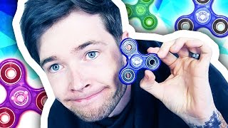 SCAMMED WITH FIDGET SPINNERS...