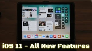 iOS 11 running on the iPad Pro - All New Features!