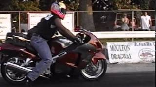 Moulton Dragstrip (Old Motorcycle Racing Video)