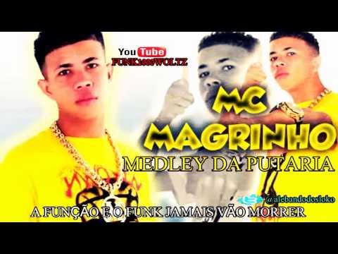 MC Magrinho - Medley Putaria Pesada (( DJ Caverinha ))