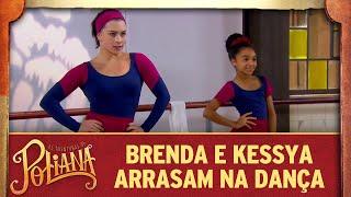 Brenda e Kessya arrasam na dança | As Aventuras de Poliana
