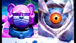 MONSTER vs. ROBOT Full Fight (Fornite Season 9 Event)