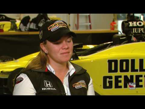 Up to SPEED: Sarah Fisher Interview Video