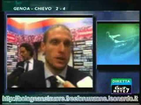 Bologna FC 1909 02/12/2012 Bologna – Atalanta 2-1 Perez nel dopopartita