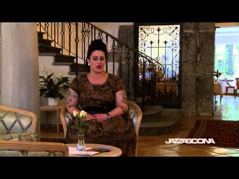 Davina Sowers, Davina & The Vaganonds Interview @ JazzAscona 2014