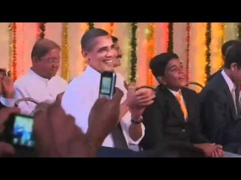 Obama N Michelle Dancing On Tunes Of Marathi Koli Song!!! video