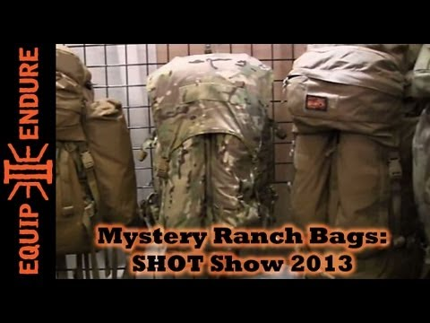 Mystery Ranch Packs, Dana Gleason Interview at SHOT Show 2013 by Equip 2 Endure
