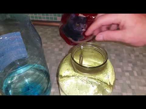 Осветление браги, снятие с осадка. Продолжение ч.6