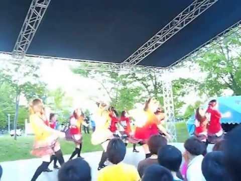 (MIX練習用)BUNBUN NINE9※1コーラスのみ by Teamくれれっ娘。(2013/6/7 北大祭アイドルステージ)