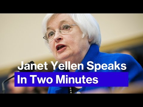 The Most Important 2 Minutes of Janet Yellen's Statement