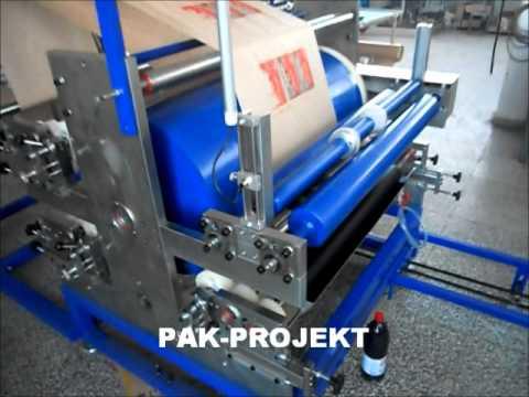 Automatska masina za proizvodnju papirnih kesa-Automatic machine for