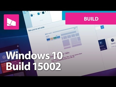 Windows 10 Build 15002 - Microsoft Edge, Start, Settings, Personalization + MORE