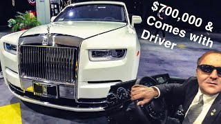 ULTIMATE LIXURY ROLLS ROYCE PHANTOM WITH DRIVER! *Beverly Hills*