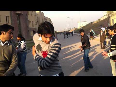 Pasthun Attan In Comsats University Islamabad video