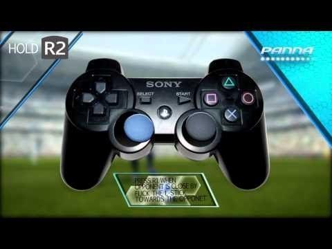 PES 2014 Tricks & Skills Tutorial - All Feints - PS3 Controls