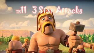 20171224 town hall 11 attack / 3 Star Attack Strategy / town hall 11 attack 3 star  / Clash of Clans