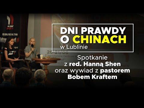 Dzień Prawdy O Chinach W Lublinie: Spotkanie Z Red. Hanną Shen Oraz Wywiad Z Pastorem Bobem Kraftem