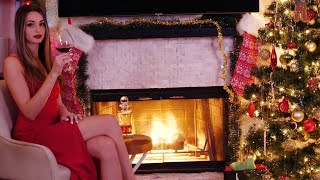 Gibi ASMR Yule Log | Fancy Party Ambiance