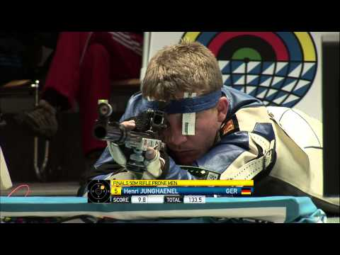 50m Men's Rifle Prone final - Munich 2013 ISSF World Cup