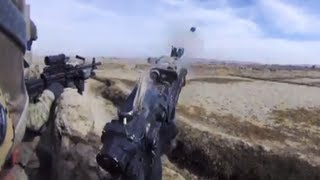 SAW Gunner and 40mm Eliminate Insurgent Ambush