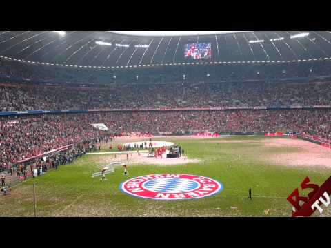 FC Bayern - Imagine Dragons - Radioactive / Allianz Arena [Meisterfeier 14/15 | 23.05.15]