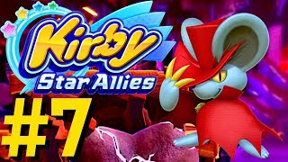 Kirby Star Allies - Gatehouse Road & Eastern Wall