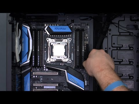 MSI X299 Gaming Pro Carbon AC / Intel i7-7800X Build