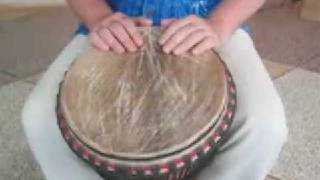 Djembe lessons and rhythms on DVD