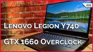 GTX 1660 Overclock! Lenovo Legion Y740 Gaming Laptop Review, Computer Desk Mods, Google Stadia!