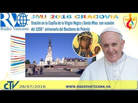 El papa Francisco en Polonia. Santa Misa en Jasna Gora