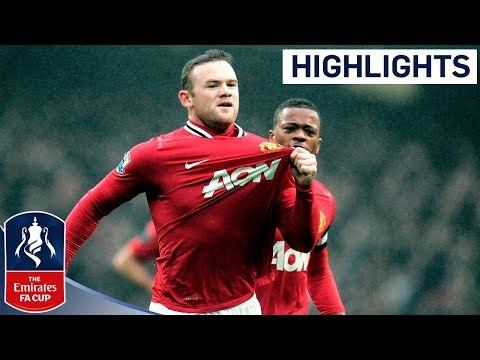Manchester City 2-3 Manchester United - Official Highlights | Fa Cup 3rd Round Proper 08-01-12 video