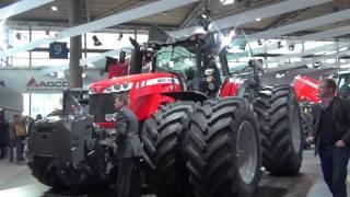 Massey Ferguson - Trattori, sollevatori e motori AGCO Power in Agritechnica 2013