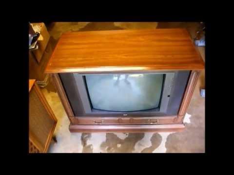 Repair Of A 1993 Rca Colortrak 26 Cabinet Model Color Tv Using The Ctc177