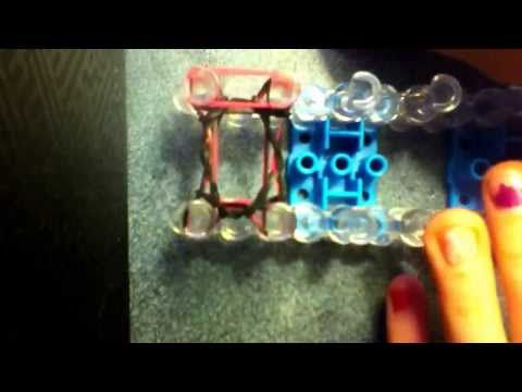 How To  Make A Pencil Grip (RainBow Loom)
