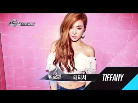 140912 Girls' Generation TaeTiSeo (TTS) - Holler Next Week @ M! Countdown