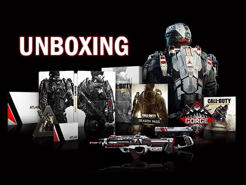 Call of Duty Advanced Warfare: Atlas Limited Edition Unboxing + Review (PS4)