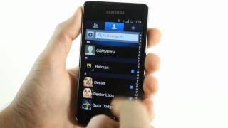 Samsung I9100 Galaxy S II Android 4.0 Ice Cream Sandwich ROM demo