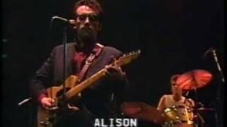 Watch Elvis Costello Alison video