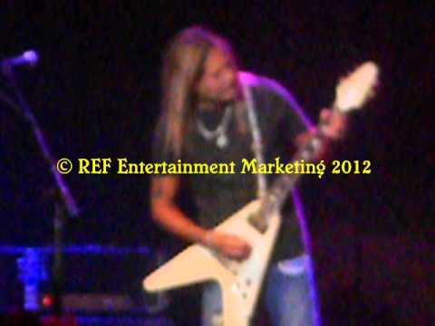 CARLOS CAVAZO does RATT Lay It Down Part 1 Las Vegas Copyright REF Entertainment Marketing 2012