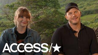 Chris Pratt Recalls Going On A Date To 'Jurassic Park' In '93; Bryce Dallas Howard On Fallen Kingdom