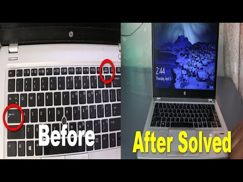 Solved Laptop Not Turning On Black Screen Caps Lock Scroll Button Blinking
