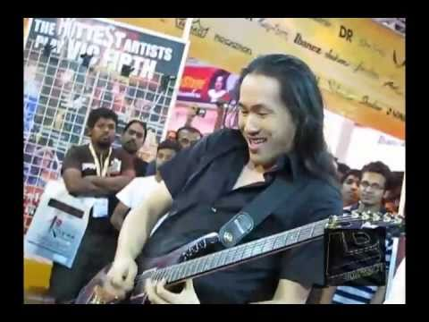 Herman Li From DragonForce Exclusive on LIVEnDIRECTent @Musicians Expo 2011