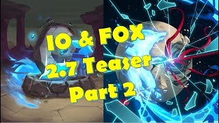 Paladins 2.7 New Champion IO & Her Fox Teasers Part 2