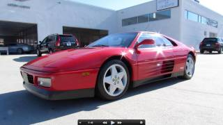 1990 Ferrari 348TS Start Up, Exhaust, and In Depth Tour