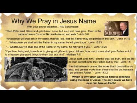 Power In The Name Of Jesus! - Rw Schambach video