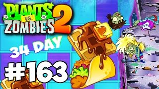 Plants vs Zombies 2 #163 Modern Day (34 Day) Прохождение Gameplay Walkthrough ios android